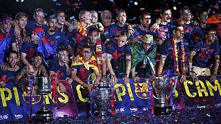 موسم ذهبي لبرشلونة بعد تحقيق الثلاثية للمرة الثانية