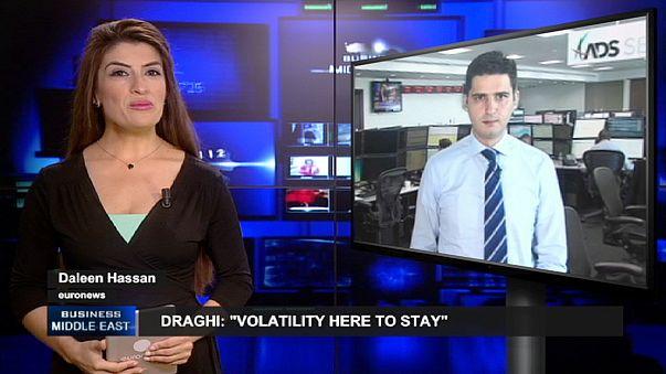 Draghi avisa de que continuará la volatilidad y la OPEP mantendrá su techo de producción