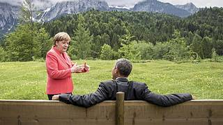 #MerkelMeme: G7 im Internet-Hype