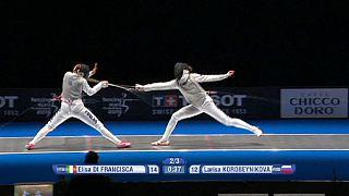 نگاهی به مسابقات شمشیربازی قهرمانی اروپا