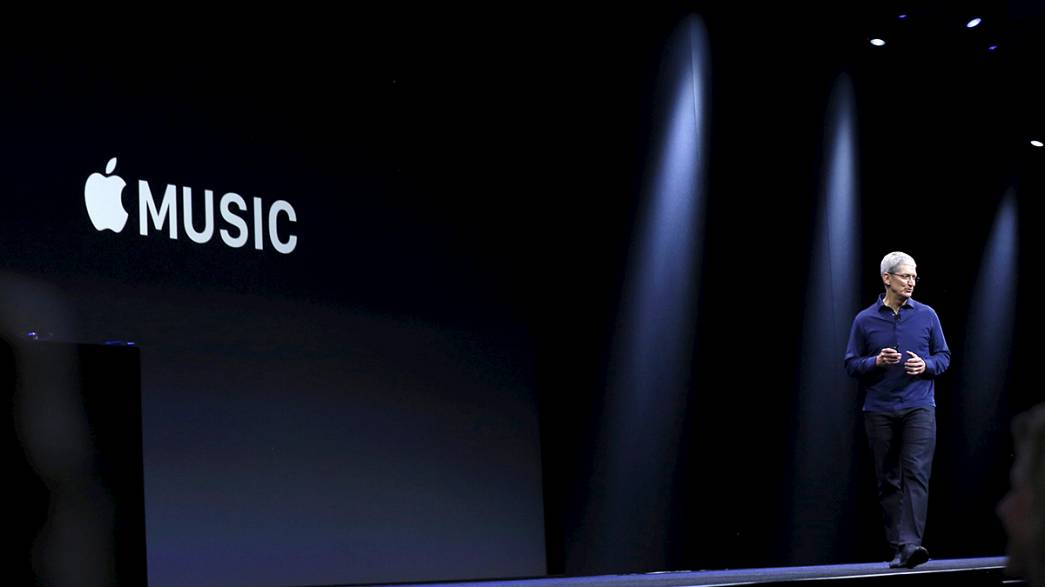 Apple unveils its own music streaming service