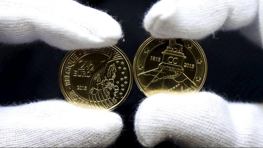 2,5 eurós Waterloo-emlékérme