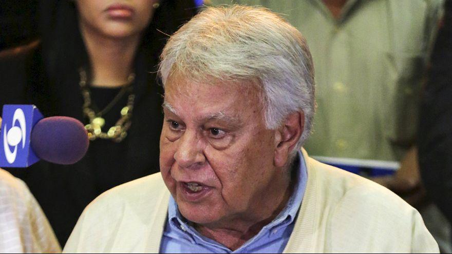 Felipe Gonzalez darf Opposition in Venezuela nicht unterstützen