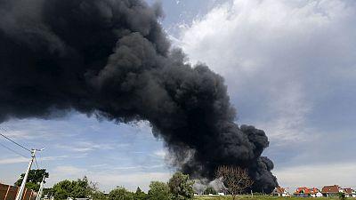 Ukraine: deadly fuel depot fire – nocomment