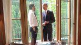 Hat Obama wieder angefangen zu rauchen?