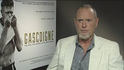 A ascensão e queda do ex-jogador de futebol Paul Gascoigne
