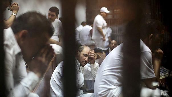 Eleven men sentenced to death after fatal Egyptian football violence