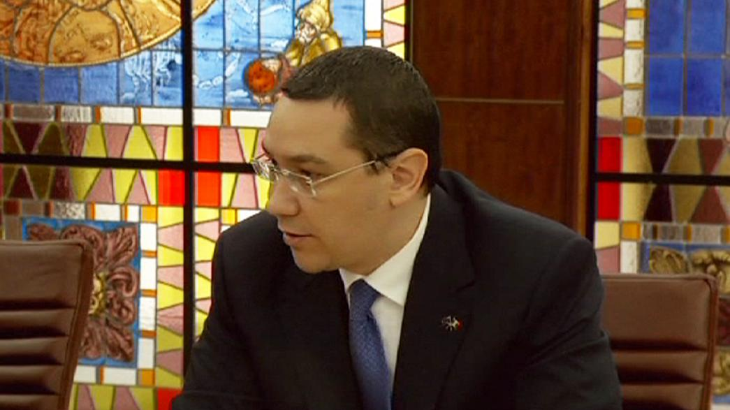 The Prime Minister of Romania has survived an attempt to bring a criminal prosecution against him.