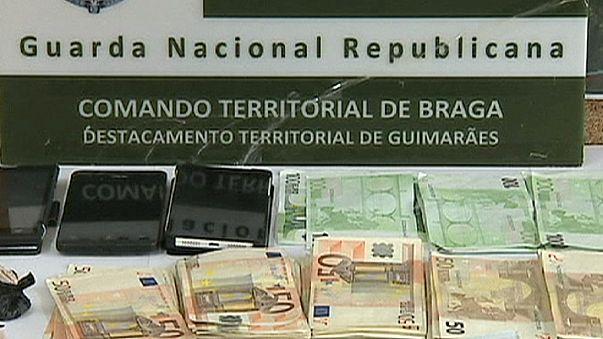 Óriási kábítószerfogás Portugáliában