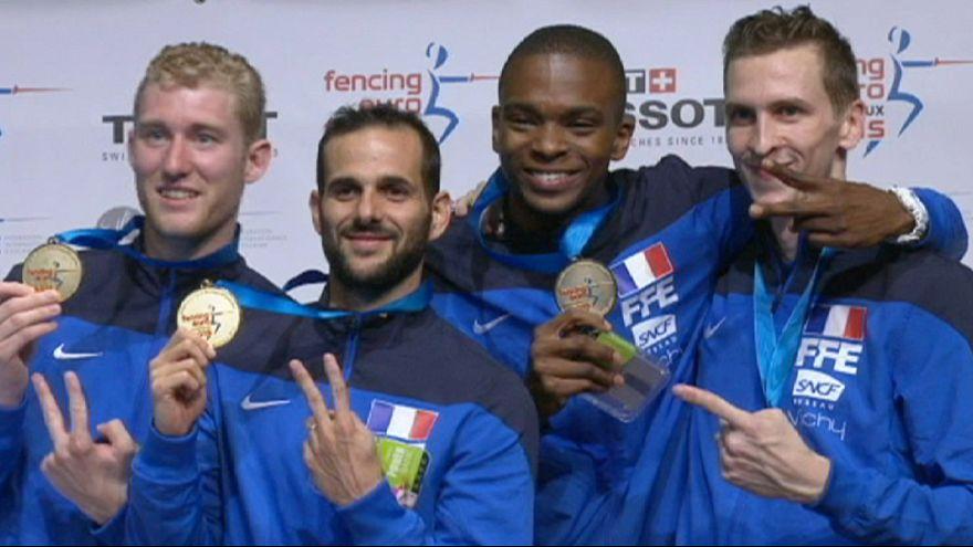 Esgrima: Franceses e romenas conquistam Campeonato da Europa
