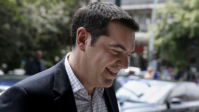 Tsipras, Merkel y Hollande; un trío para desbloquear las negociaciones de la deuda griega