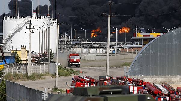 Großbrand nahe Kiew unter Kontrolle