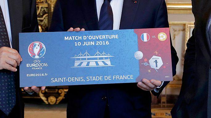Már igényelhetők jegyek a franciaországi futball-EB-re