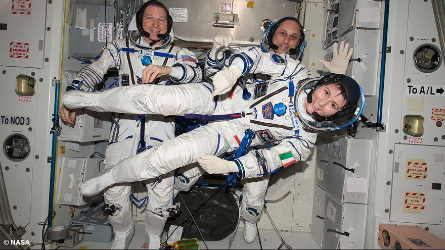 Changement d'équipage à bord de l'ISS