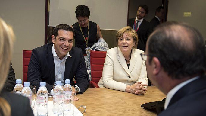 تكثيف للمفاوضات في بروكسل لحل الأزمة في اليونان