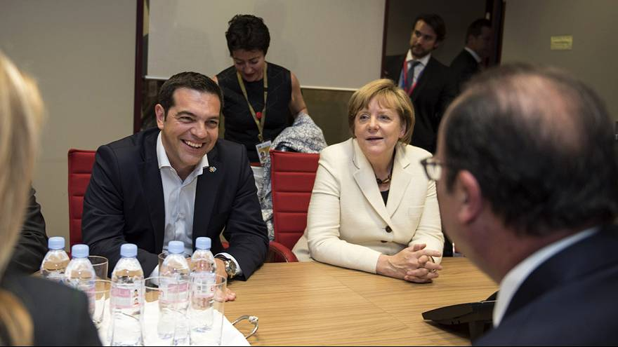 Merkel, Hollande und Tsipras wollen Schulden-Verhandlung intensivieren