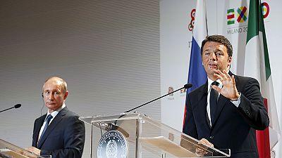 Putin in Italien bei Renzi, Franziskus, Berlusconi