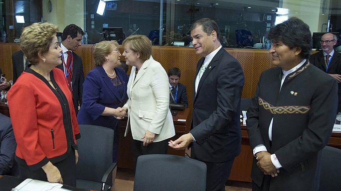 البدء بأعمال القمة الأوروبية اللاتينية في بروكسل