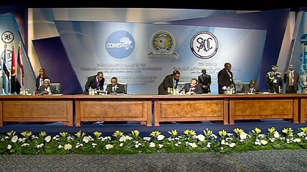 26 دولة افريقية توقع اتفاقا مبدئيا لانشاء منطقة للتجارة الحرة