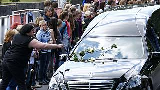 Germanwings high school students' remains arrive home in Haltern