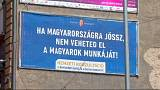 A guerra dos cartazes na Húngria