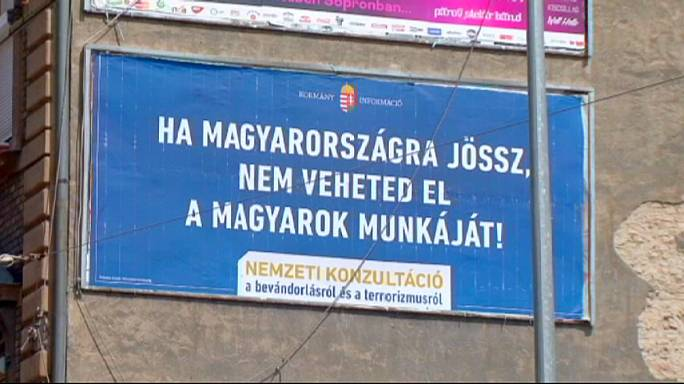Hungary: billboard war sparks international concern