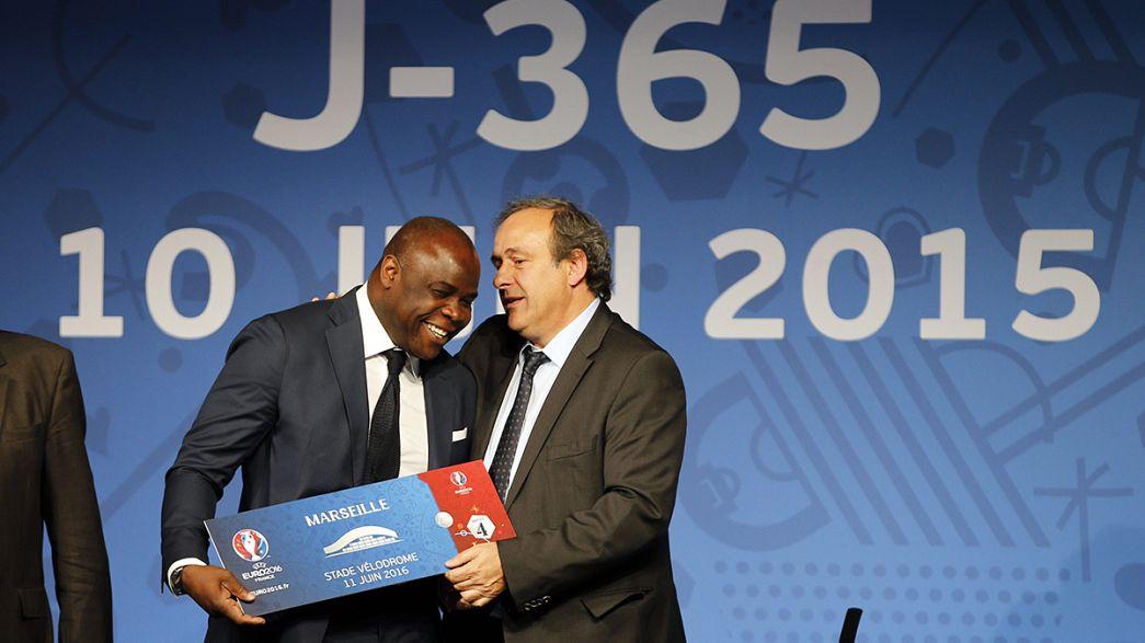 Francia inicia la cuenta atrás para el inicio de la Eurocopa 2016