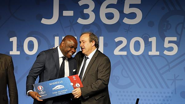 Platini opens Euro 2016 ticket sales