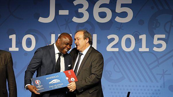 Platini opens Euro 2016 ticket sales