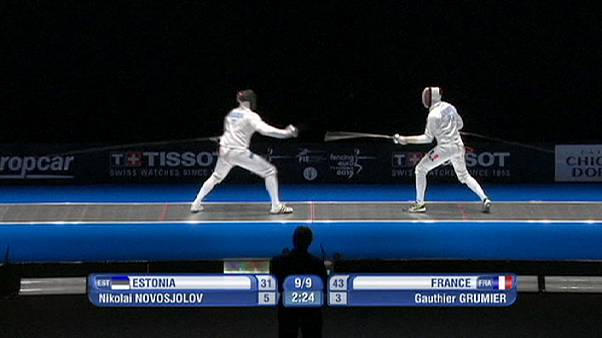 France outclass Estonia at European fencing championships