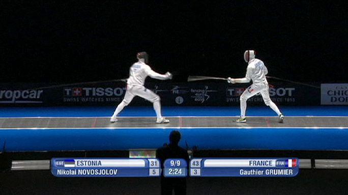 Eskrim'de Rusya üçüncü kez Avrupa Şampiyonu