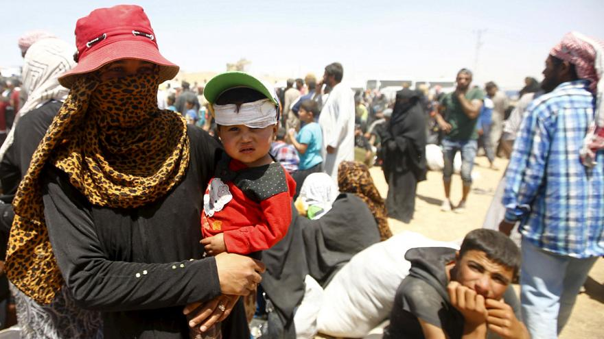 Flüchtlingswelle von Syrien in die Türkei