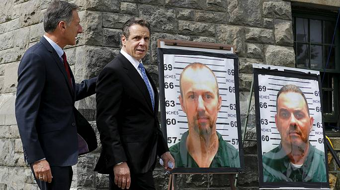 مطاردة السجينين الاميركيين تتوسع من نيويورك الى فيرمونت