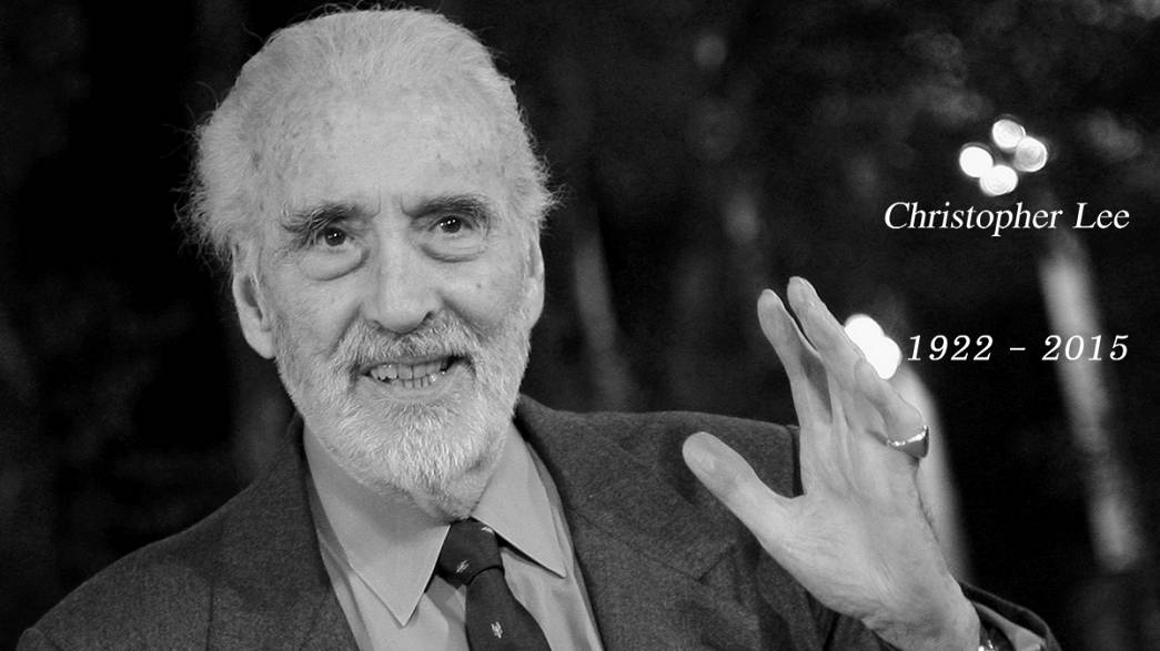 British actor Sir Christopher Lee dies at 93