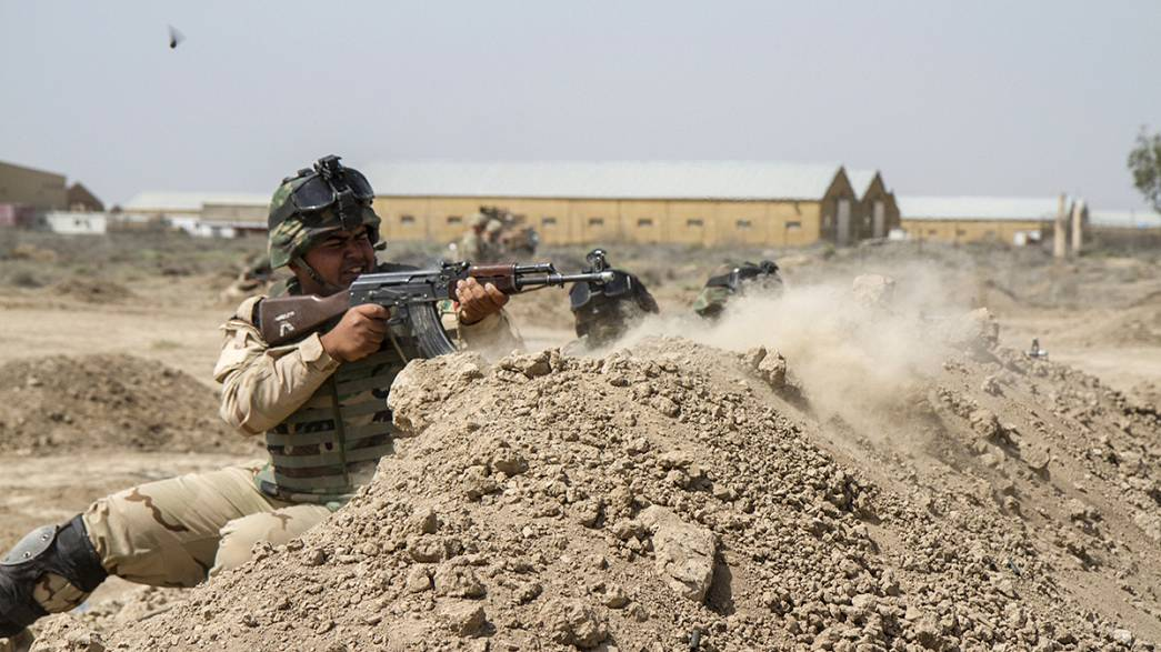 Estados Unidos envía 450 militares a Irak para ayudar al Ejército a retomar el control de Ramadi