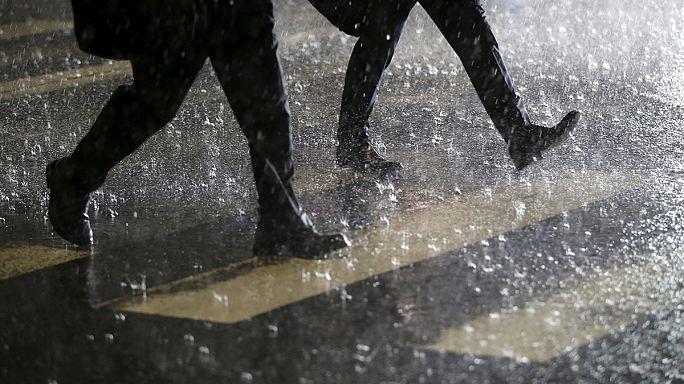 Япония. Проливные дожди привели к эвакуации населения