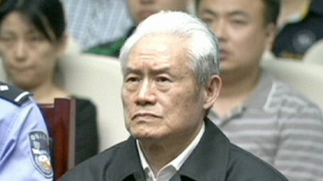 China's crackdown on corruption: ex-security chief handed life sentence