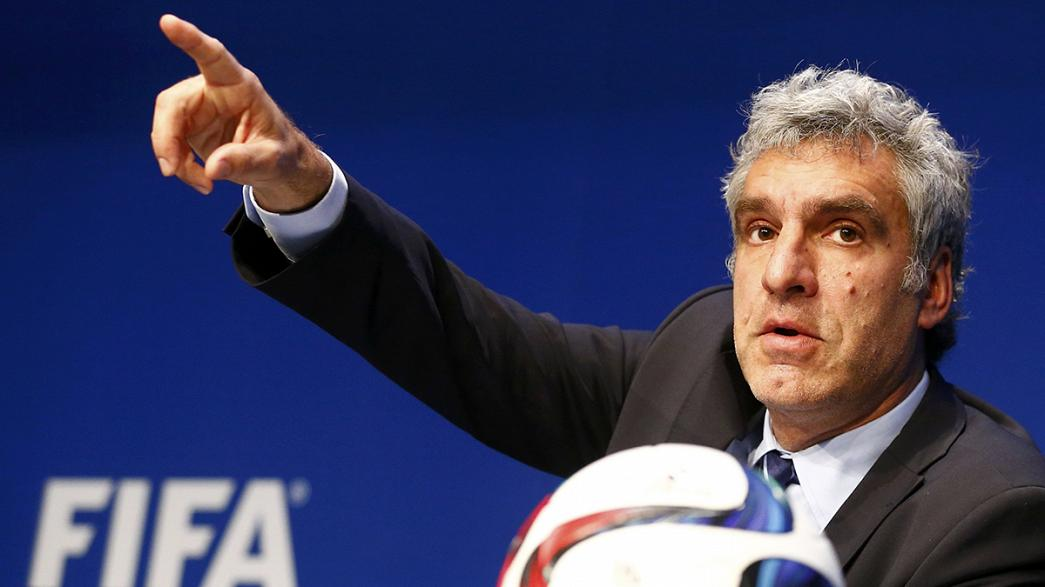 FIFA media director De Gregorio quits; Blatter rejects European Parliament call to go now