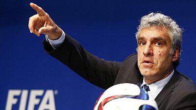 FIFA media director De Gregorio quits; Blatter rejects European Parliament call to go now