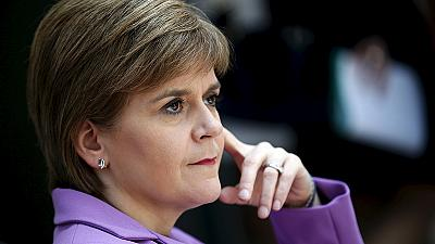 Scottish First Minister not received in White House while in Washington