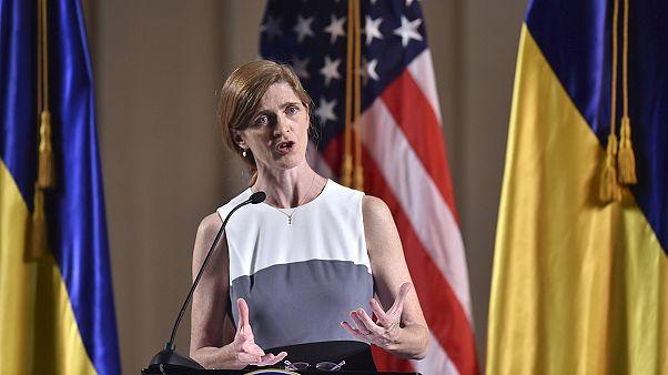 """Samantha Power a los ucranianos: """"EE.UU no os abandonará"""""""