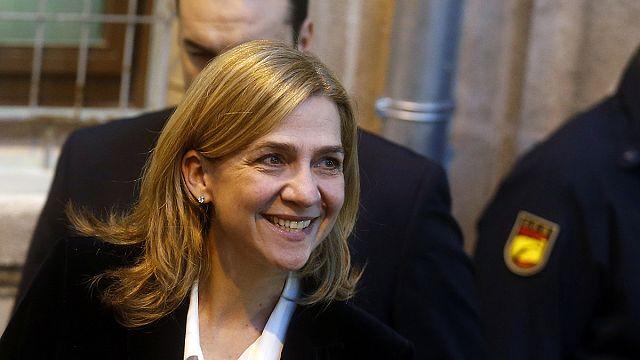 Megfosztották címétől az adócsalásba keveredett spanyol hercegnőt