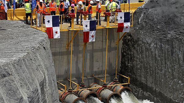 Panama Kanalı'nı genişletme çalışmalarında kritik aşama