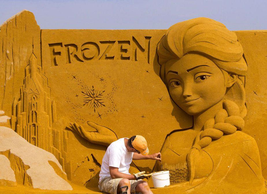 La reine des sables