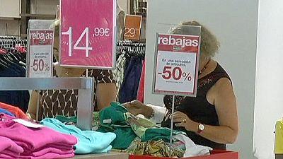 Spanish consumer price slide slows