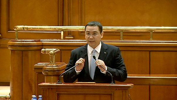 Romanya hükümeti gensoru sınavını rahat geçti