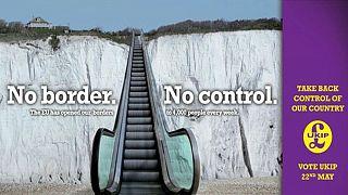Los cinco carteles europeos 'anti-inmigración' más polémicos