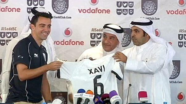 Xavi Hernández es presentado como nuevo jugador del Al Sadd