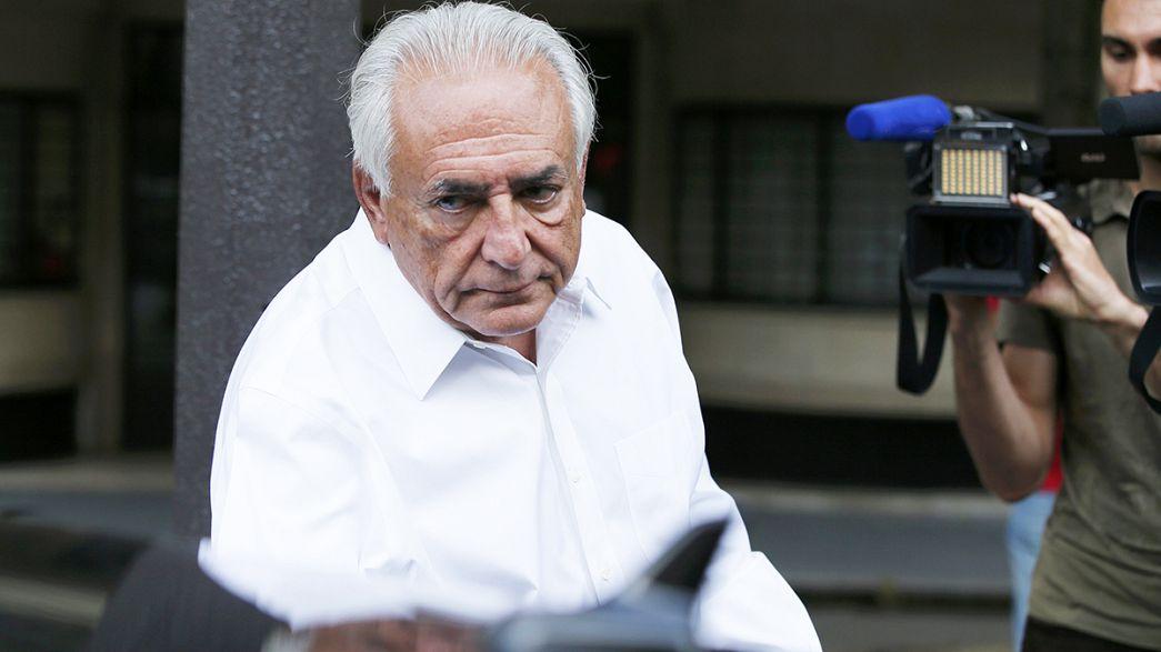 Dominique Strauss-Kahn beraat etti