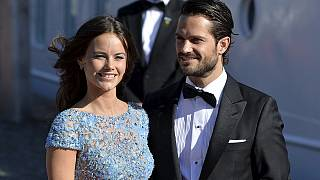 European monarchs arrive for Swedish royal wedding